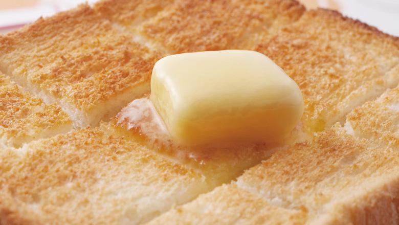美味しいバタートースト