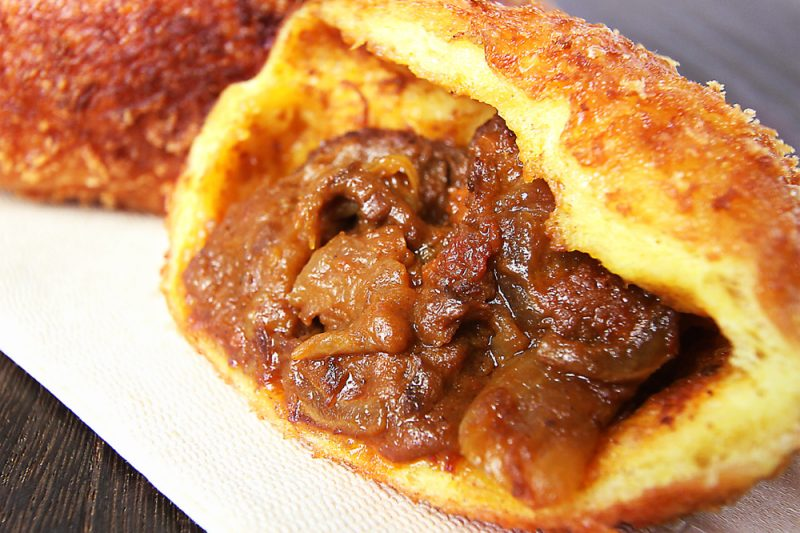 牛肉ゴロゴロカレーパン