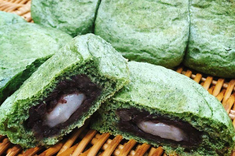 草団子パン